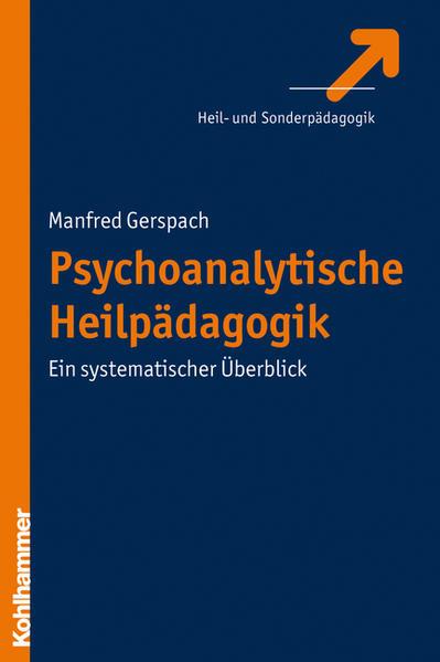 Psychoanalytische Heilpädagogik - Coverbild