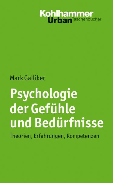 Psychologie der Gefühle und Bedürfnisse - Coverbild