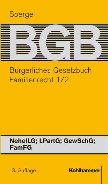 Bürgerliches Gesetzbuch mit Einführungsgesetz und Nebengesetzen (BGB) - Coverbild