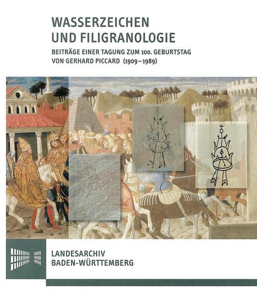 Wasserzeichen und Filigranologie - Coverbild