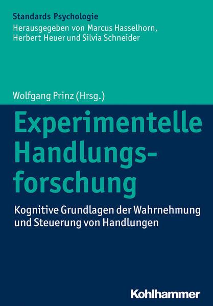 Experimentelle Handlungsforschung - Coverbild