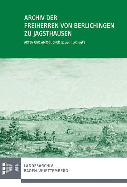 Archiv der Freiherren von Berlichingen zu Jagsthausen - Coverbild