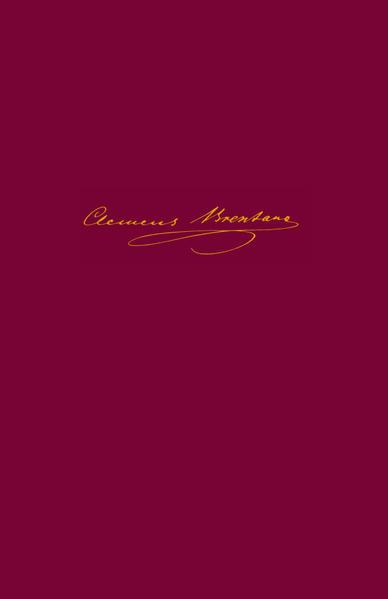 Clemens Brentano: Sämtliche Werke und Briefe / Gedichte 1801-1806 - Coverbild