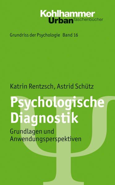 Psychologische Diagnostik - Coverbild