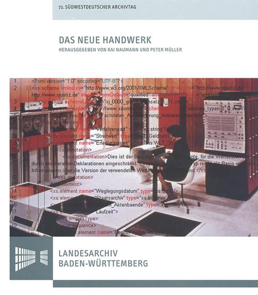 Das neue Handwerk - Digitales Arbeiten in kleinen und mittleren Archiven - Coverbild