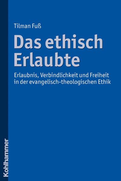 Das ethisch Erlaubte - Coverbild
