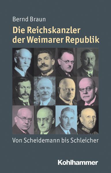 Die Reichskanzler der Weimarer Republik - Coverbild