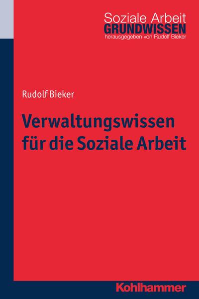 Verwaltungswissen für die Soziale Arbeit - Coverbild