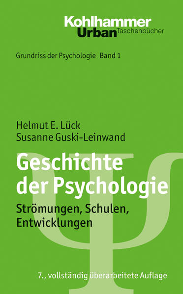 Grundriss der Psychologie / Geschichte der Psychologie - Coverbild