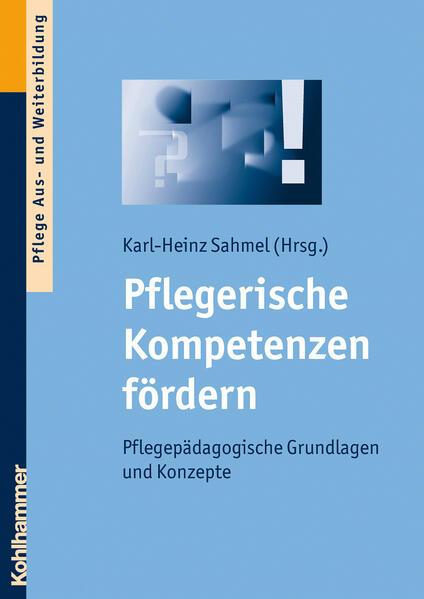 Pflegerische Kompetenzen fördern - Coverbild