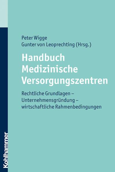 Handbuch Medizinische Versorgungszentren - Coverbild