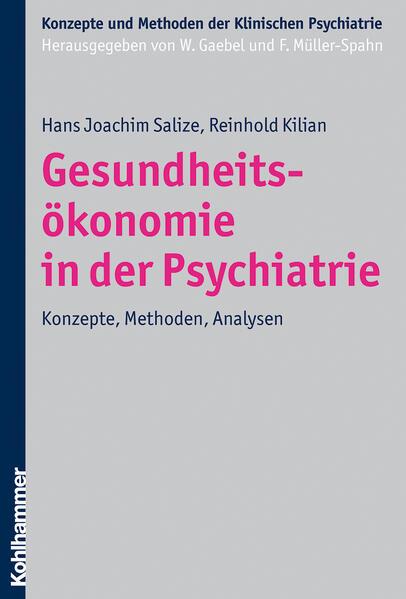 Gesundheitsökonomie in der Psychiatrie - Coverbild