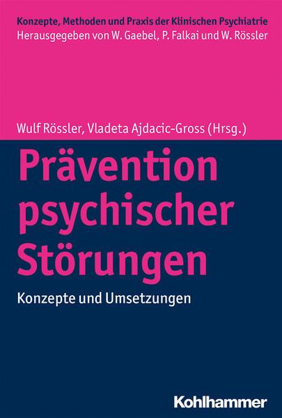 Prävention psychischer Störungen - Coverbild