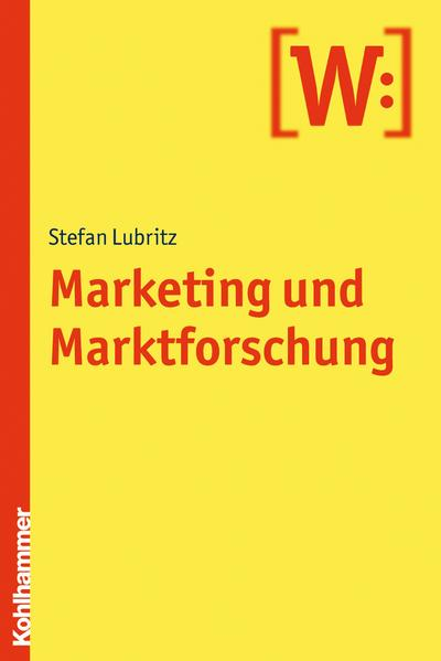 Marketing und Marktforschung - Coverbild
