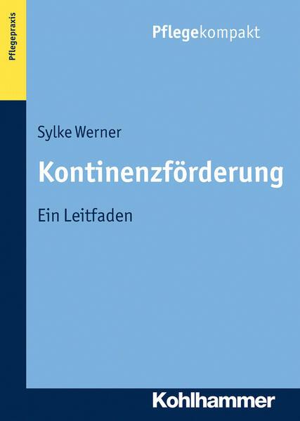 Kontinenzförderung - Coverbild