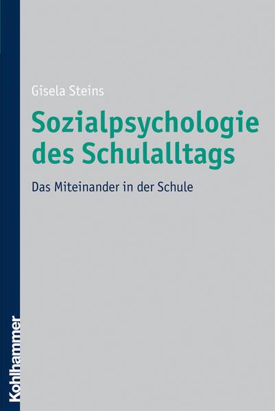 Sozialpsychologie des Schulalltags - Coverbild