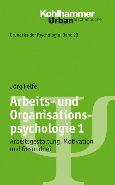 Arbeits- und Organisationspsychologie 1 - Coverbild