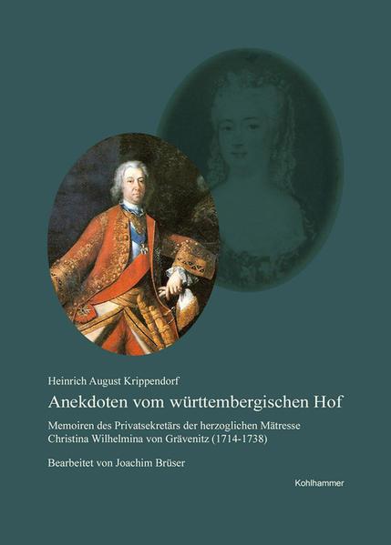 Anekdoten vom württembergischen Hof - Coverbild