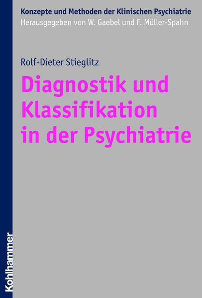Diagnostik und Klassifikation in der Psychiatrie - Coverbild
