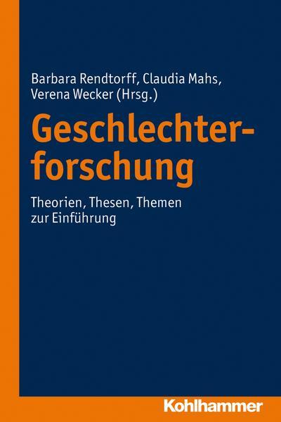 Geschlechterforschung - Coverbild