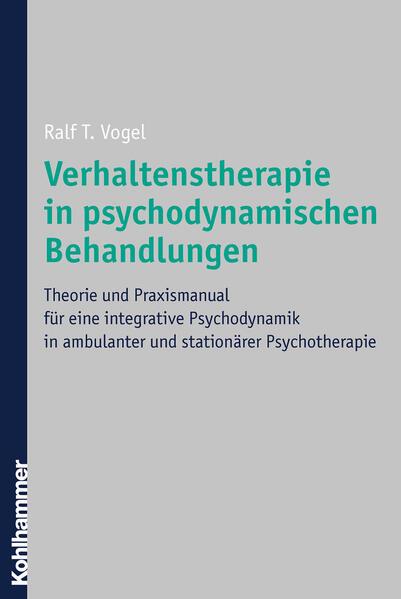 Verhaltenstherapie in psychodynamischen Behandlungen - Coverbild