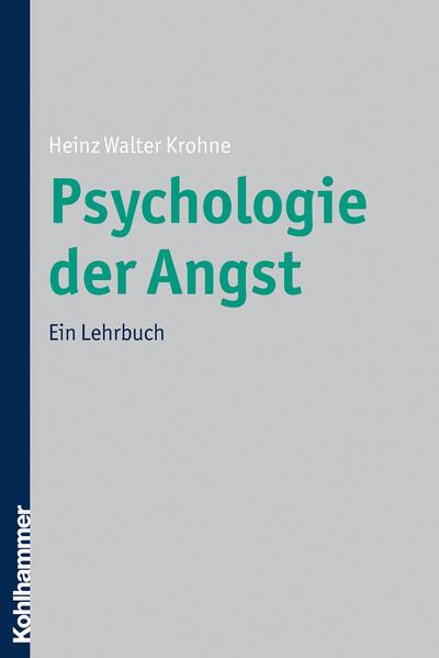 Psychologie der Angst - Coverbild