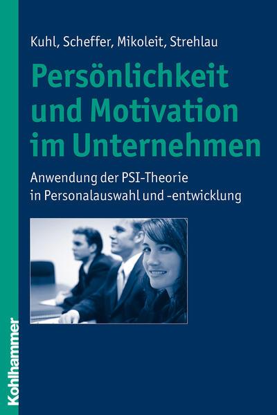 Persönlichkeit und Motivation im Unternehmen - Coverbild
