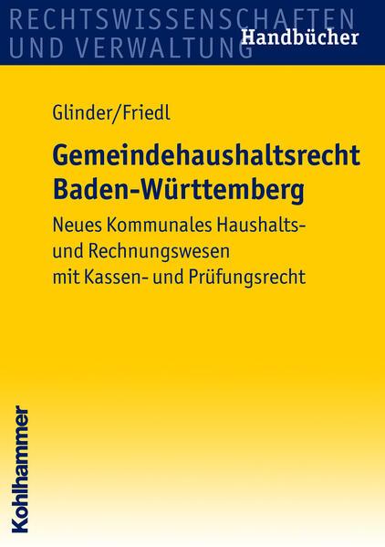 Gemeindehaushaltsrecht Baden-Württemberg - Coverbild