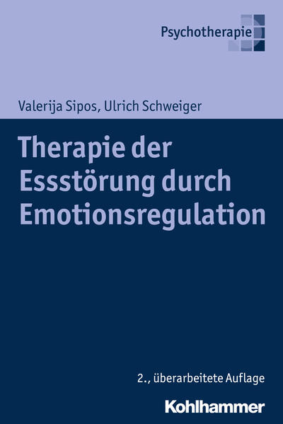 Therapie der Essstörung durch Emotionsregulation - Coverbild