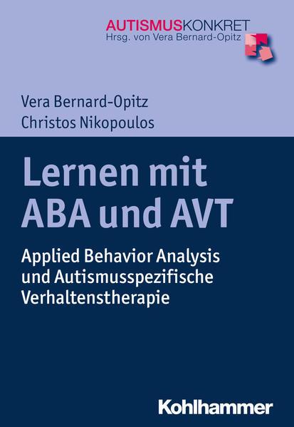 Lernen mit ABA und AVT - Coverbild