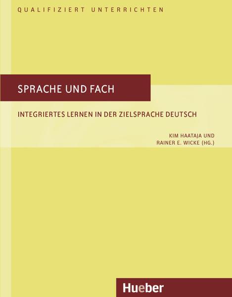 Qualifiziert unterrichten / Sprache und Fach - Coverbild