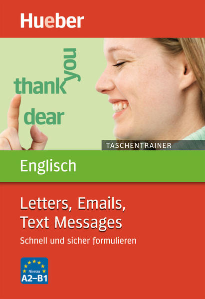 Taschentrainer Englisch – Letters, Emails, Text Messages - Coverbild