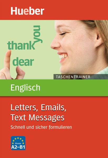 Taschentrainer Englisch – Letters, Emails, Text Messages - Coverbild