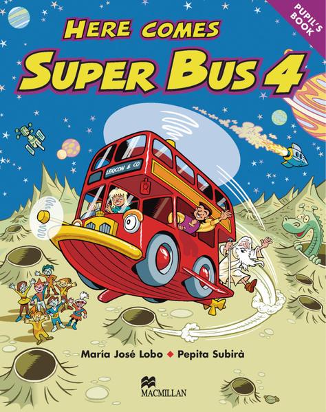 Level 4 / Here comes Super Bus - Coverbild
