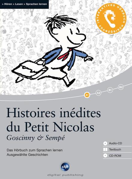 Histoires inédites du Petit Nicolas - Coverbild