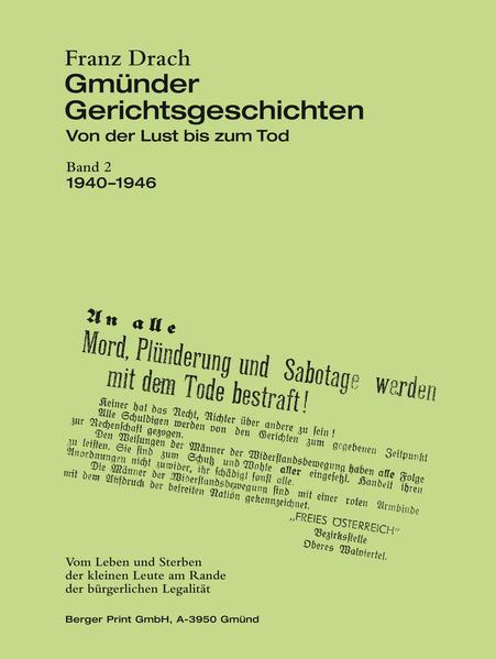 Gmünder Gerichtsgeschichten - Coverbild