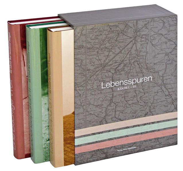 Lebensspuren. Bände I-III. Sonderedition der Bände I-III im Sammelschuber - Coverbild