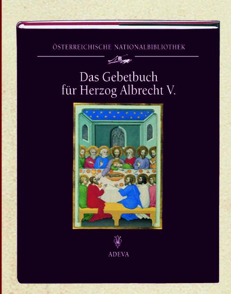 Das Gebetbuch für Herzog Albrecht V. - Coverbild