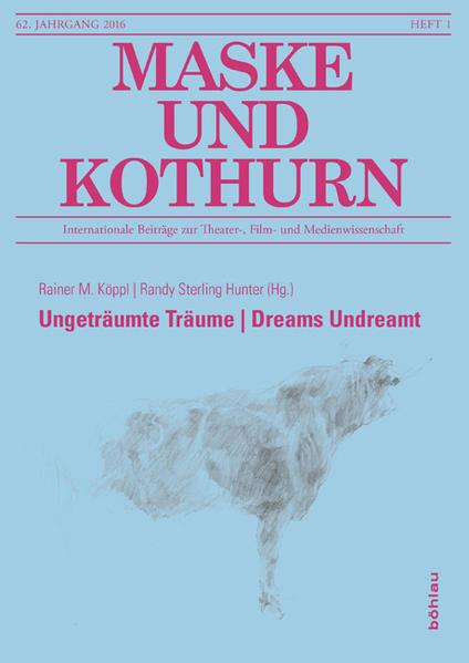 Ungeträumte Träume   Dreams Undreamt - Coverbild