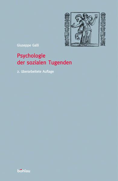 Psychologie der sozialen Tugenden - Coverbild