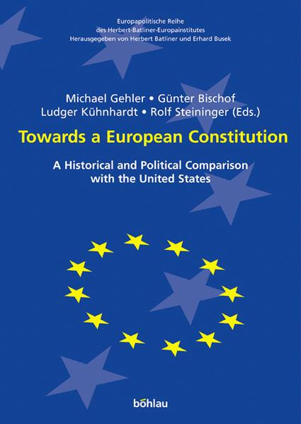 Towards a European Constitution - Coverbild
