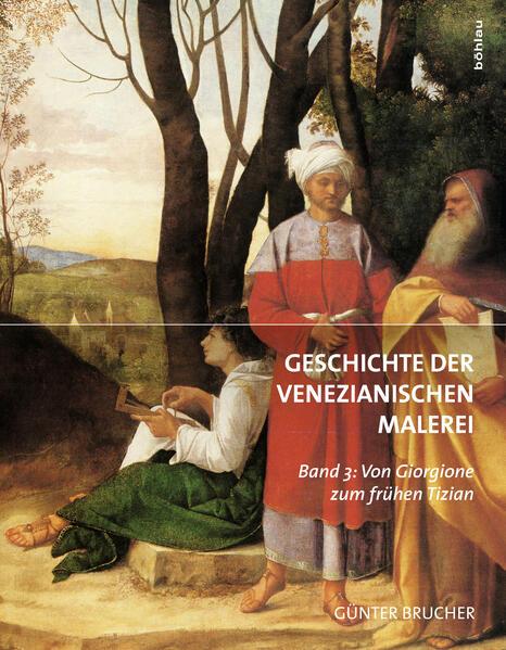 Geschichte der Venezianischen Malerei - Coverbild