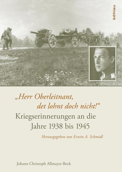 """""""Herr Oberleitnant, det lohnt doch nicht!"""" - Coverbild"""