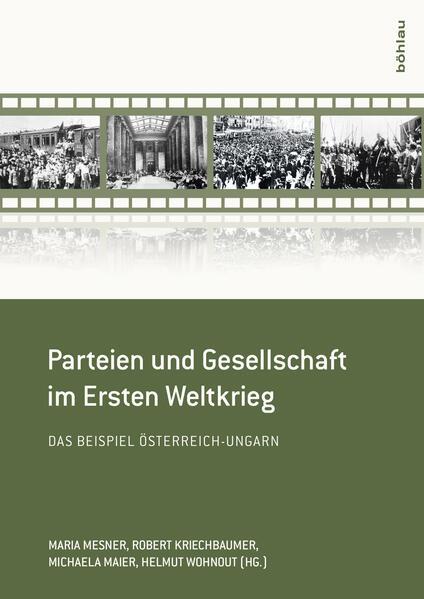 Parteien und Gesellschaft im Ersten Weltkrieg - Coverbild