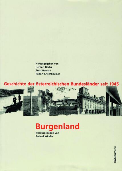Geschichte der österreichischen Bundesländer seit 1945 / Burgenland - Coverbild