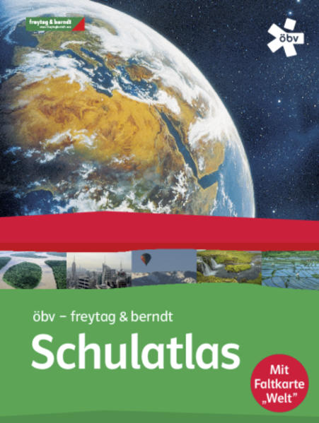 öbv-Schulatlas, Buchhandelsausgabe - Coverbild