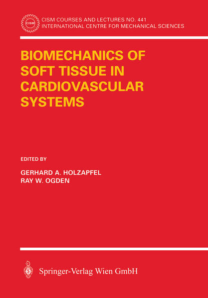 Biomechanics of Soft Tissue in Cardiovascular Systems - Coverbild