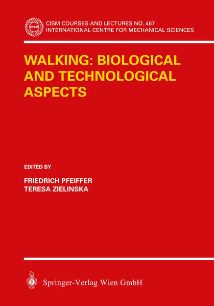 Walking: Biological and Technological Aspects - Coverbild