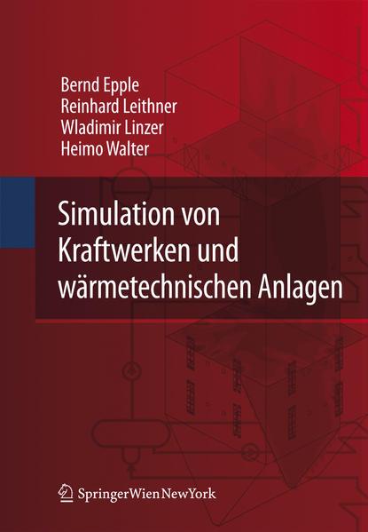 Simulation von Kraftwerken und wärmetechnischen Anlagen - Coverbild