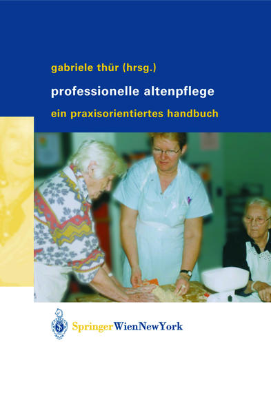 Professionelle Altenpflege - Coverbild